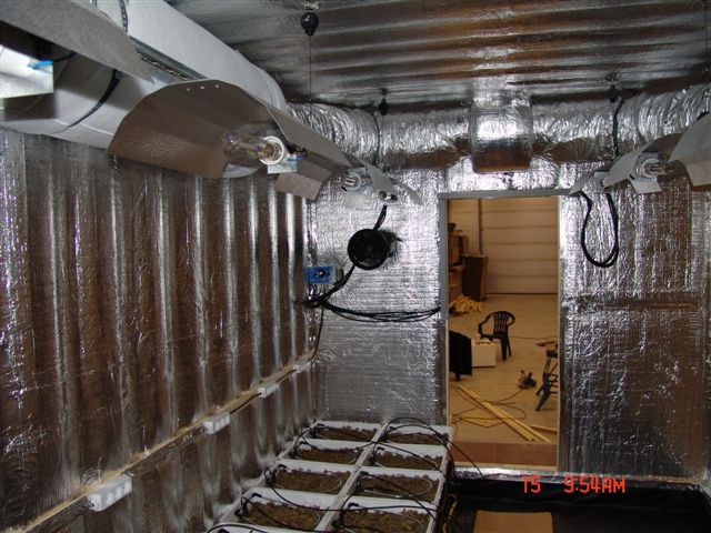 Hydroponic Grow Room Shipping Containers Shell Only